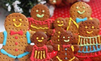 圣诞节电烤箱食谱:圣诞姜饼小人的做法^_^【新手篇】