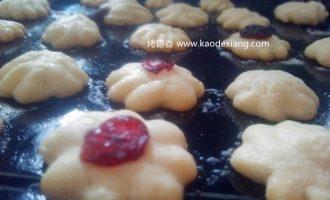 吃货电烤箱食谱:制作蔓越莓黄油曲奇的食谱[为什么曲奇花纹消失]