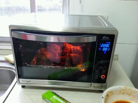 长帝crdf32a电烤箱怎么样?小姐姐用它烤鸡翅!【试用报告2】