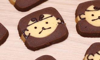 烘焙食谱初级-馬騮仔(猴子)曲奇小猴子曲奇饼干制作方法