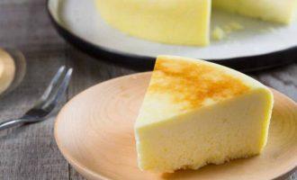 非烤箱食谱:电饭锅蒸日式芝士蛋糕制作方法