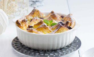 烘焙食谱-蔓越莓面包布丁制作食谱