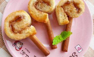 烘焙食譜:棒棒吐司饼干