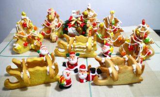 圣诞节立体造型饼干烘焙食谱