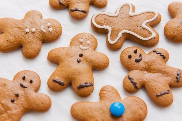 圣诞节烘焙食谱-煎饼人曲奇食谱