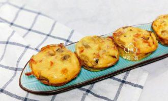 小艺教你做蛋料理~夏威夷磨菇烘蛋!