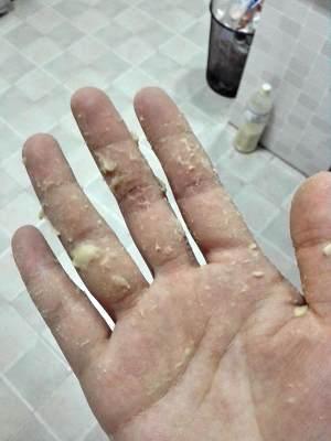面包机都能揉出手套膜(不用剪刀,面包机出膜最详细指导)的做法 步骤3