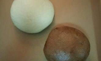 电烤箱烘焙食谱-椰子咖啡鹿纹吐司烘焙食谱