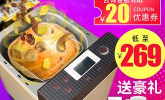 Donlim/东菱DL-T06S-K面包机怎么样?289元的面包机看看好用吗?