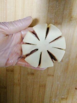 悠然花式豆沙面包的做法 步骤9