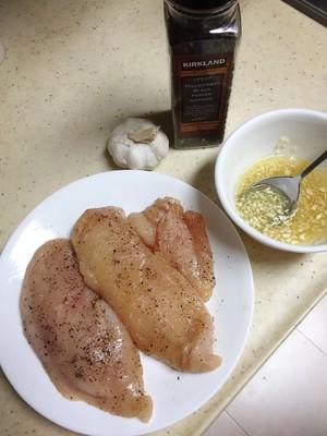 鸡排吐司的做法 步骤1