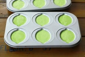 菠菜海绵蛋糕的做法 步骤6