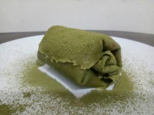 抹茶毛巾卷的做法 步骤4