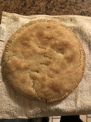 鸡肉派(Chicken Pot Pie)的做法 步骤10