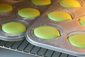 菠菜海绵蛋糕的做法 步骤7