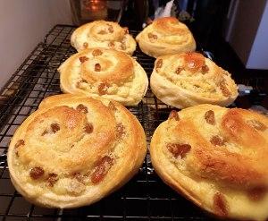 椰蓉果仁面包的做法 步骤11