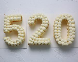 数字蛋糕(戚风版)的做法 步骤12