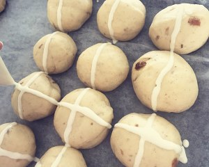 复活节十字面包hot x buns的做法 步骤7