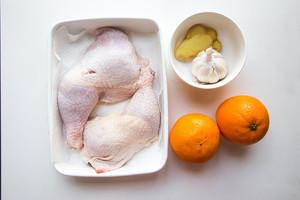 香橙烤鸡腿的做法 步骤1