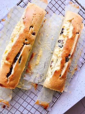 黑加仑蔓越莓朗姆酒柠檬磅蛋糕的做法 步骤2