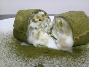 抹茶毛巾卷的做法 步骤5