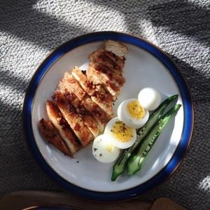 鸡排吐司的做法 步骤7
