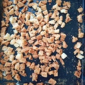 自制面包糠(烤箱版)的做法 步骤4