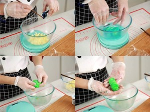 """遇上彩虹,吃定""""彩虹""""——彩虹吐司的做法 步骤12"""