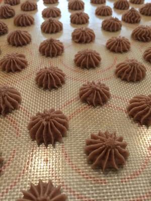 杏仁曲奇饼干的做法 步骤4