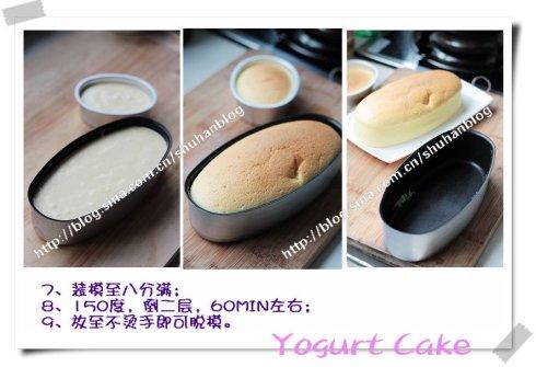 酸奶蛋糕(Yogurt<wbr>Cake)——水浴法的正确做法