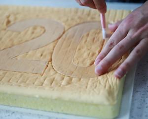 数字蛋糕(戚风版)的做法 步骤7