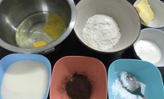 电烤箱烘焙食谱-可可毛巾卷做法