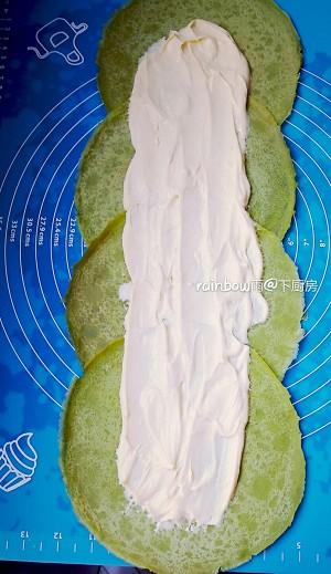 菠菜毛巾卷一春之网红的做法 步骤7