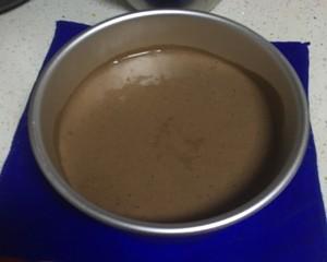 超简单美味可可戚风蛋糕(八寸)!的做法 步骤5