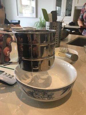 烘培课-轻乳酪蛋糕的做法 步骤8