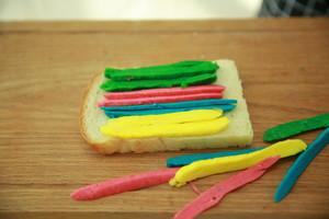 """遇上彩虹,吃定""""彩虹""""——彩虹吐司的做法 步骤14"""