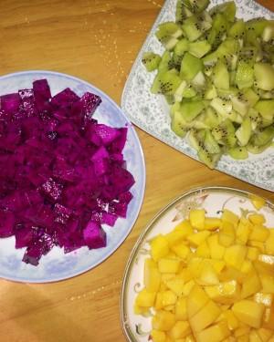 芒果蛋挞的做法 步骤2