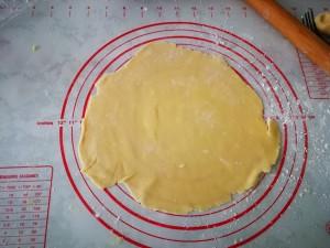 向日葵派(菠萝派)的做法 步骤9