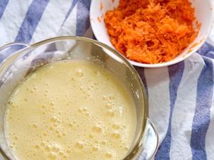 低脂低糖健康胡萝卜蛋糕的做法 步骤4