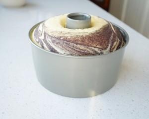 黑米粉大理石蒸蛋糕(超详尽)的做法 步骤15