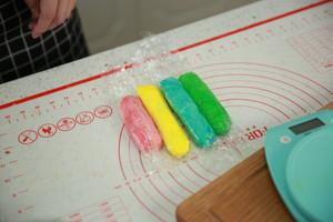"""遇上彩虹,吃定""""彩虹""""——彩虹吐司的做法 步骤13"""