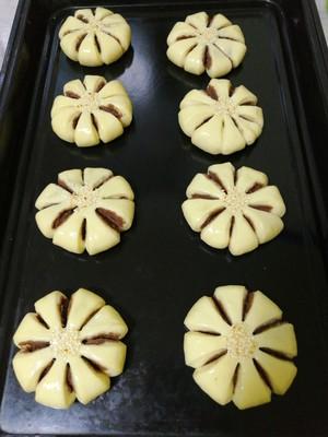 悠然花式豆沙面包的做法 步骤10