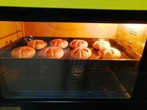 悠然花式豆沙面包的做法 步骤12