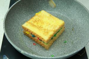 """遇上彩虹,吃定""""彩虹""""——彩虹吐司的做法 步骤18"""