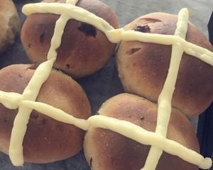 复活节十字面包hot x buns的做法 步骤9