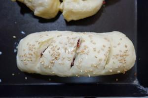 蔓越莓椰蓉面包卷的做法 步骤16