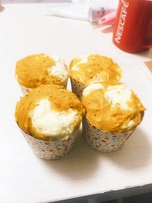 (生酮)低卡南瓜奶酪玛芬的做法 步骤5
