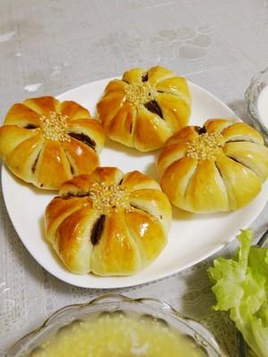 悠然花式豆沙面包的做法 步骤15
