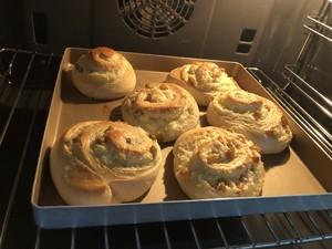 椰蓉果仁面包的做法 步骤9