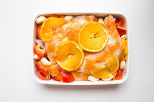 香橙烤鸡腿的做法 步骤6